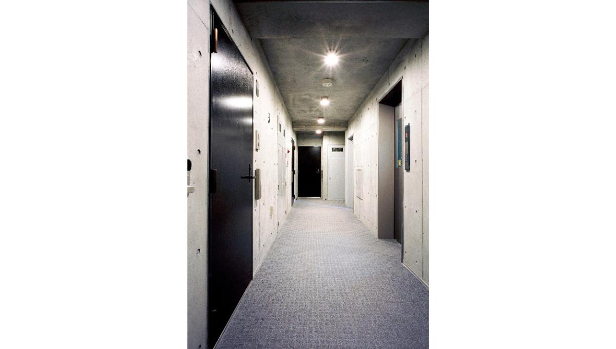 セレーネ自由が丘(ジユウガオカ)の内廊下