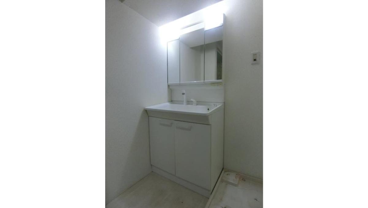 秀和洗足レジデンス(センゾク)の独立洗面化粧台
