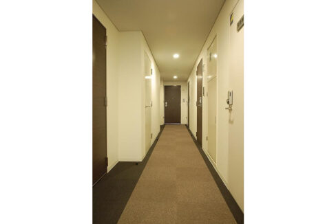 ステージファースト西大井一番館(ニシオオイ イチバンカン)の内廊下