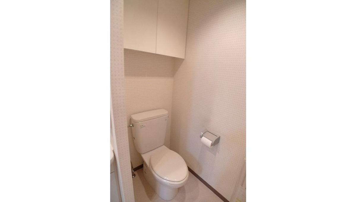 ストーリア等々力(トドロキ)のトイレ