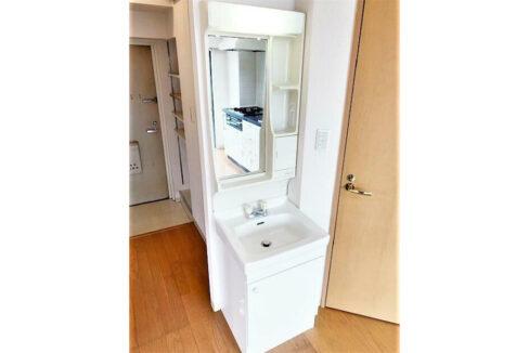 スタジオスクエア洗足(センゾク)の独立洗面化粧台