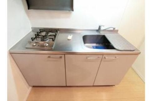 SYNEX SHINAGAWA-EBARA(シーネクス シナガワエバラ)の2口ガスキッチン