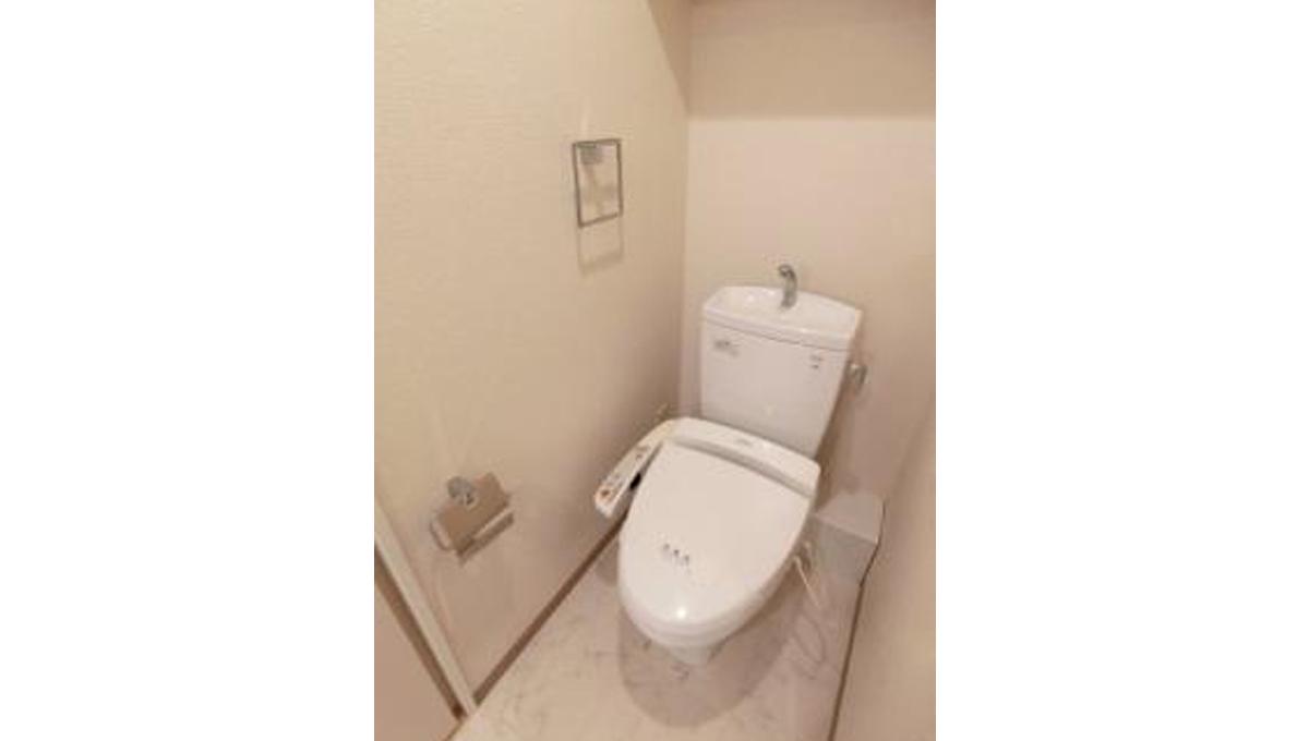 SYNEX SHINAGAWA-EBARA(シーネクス シナガワエバラ)のウォシュレット付トイレ