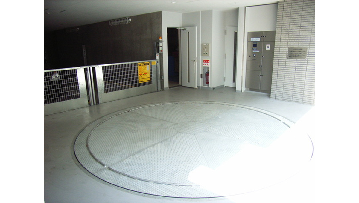 パークハビオ戸越(トゴシ)の駐車場
