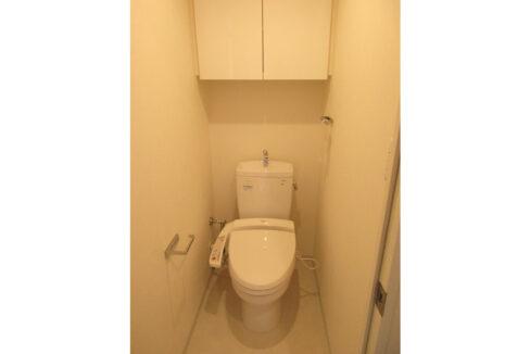 パークハビオ戸越(トゴシ)のウォシュレット付トイレ