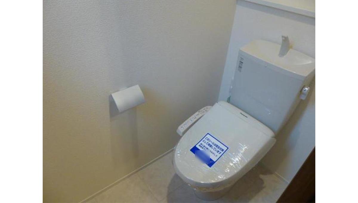 ヴィアンカーサのウォシュレット付トイレ