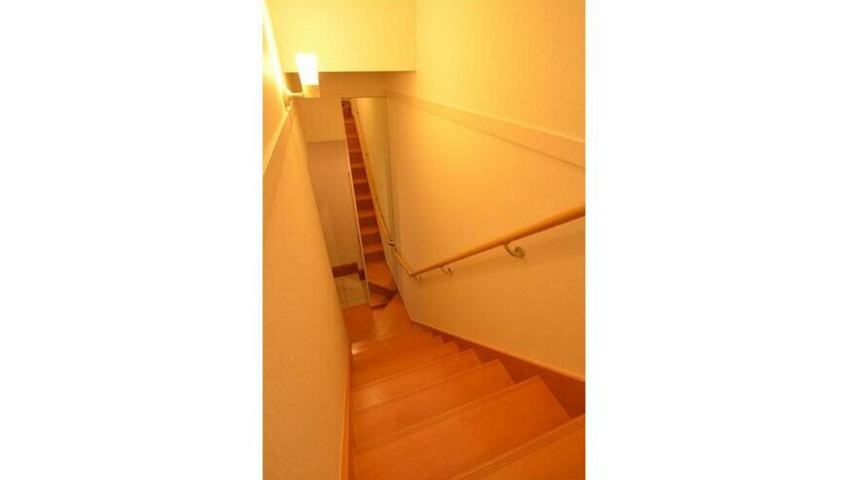 Villa K(ヴィラ・ケイ)の階段
