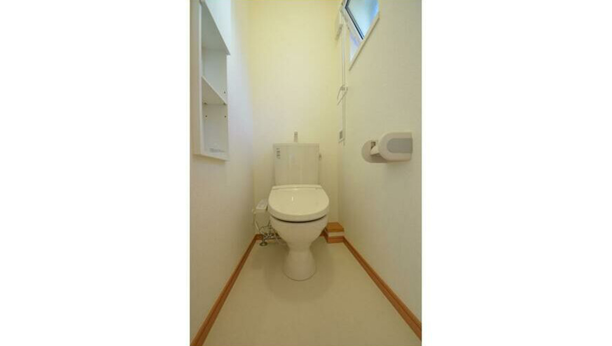 Villa K(ヴィラ・ケイ)のウォシュレット付トイレ