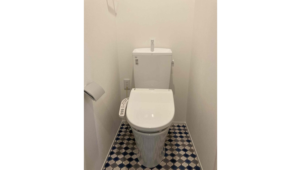 VIVO(ヴィーヴォ)のウォシュレット付トイレ