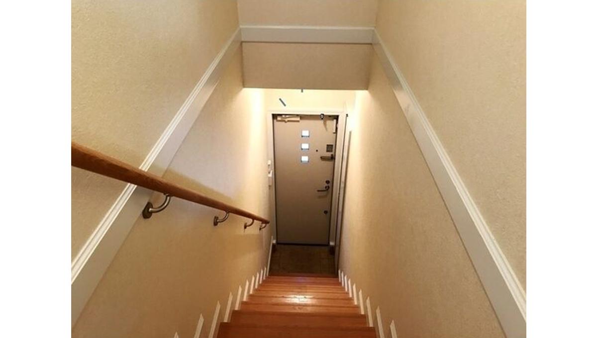 ボニュールアヴニュの階段