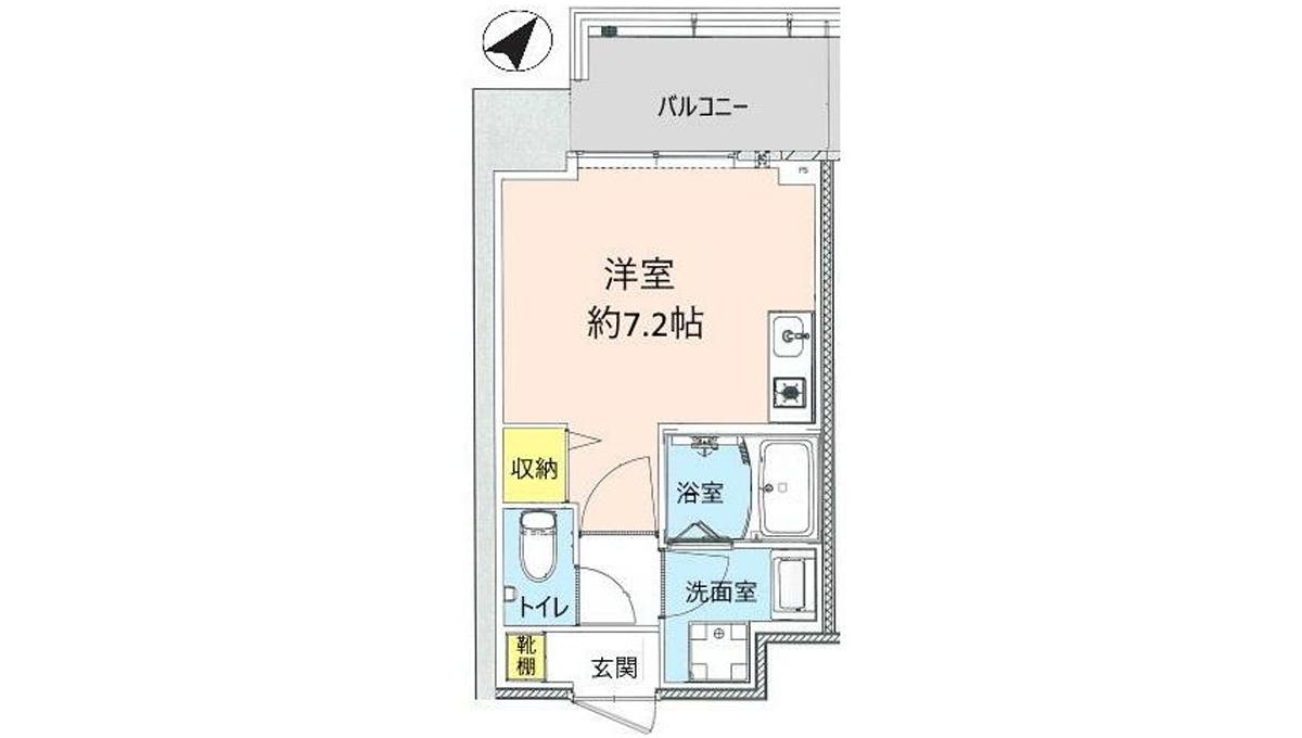 シティタワー武蔵小山レジデンス棟(ムサシコヤマ)の間取図