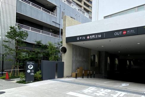 シティタワー武蔵小山レジデンス棟(ムサシコヤマ)の駐車場