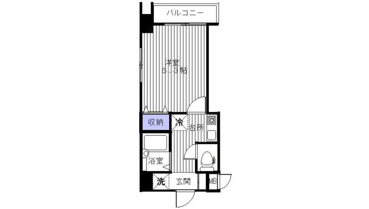 Crest Koyama(クレスト コヤマ)の間取図