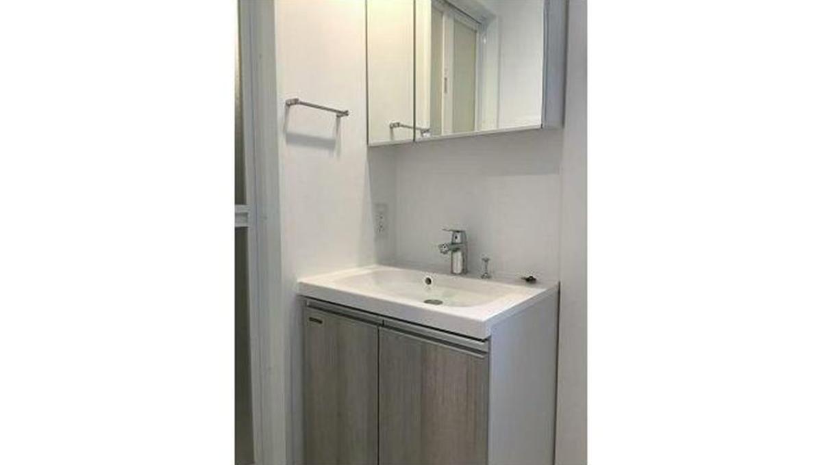 CREVISTA品川西大井(クレヴィスタ シナガワニシオオイ)の独立洗面化粧台