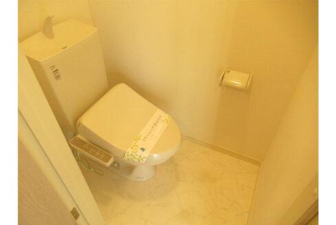 エクシート21のウォシュレット付トイレ