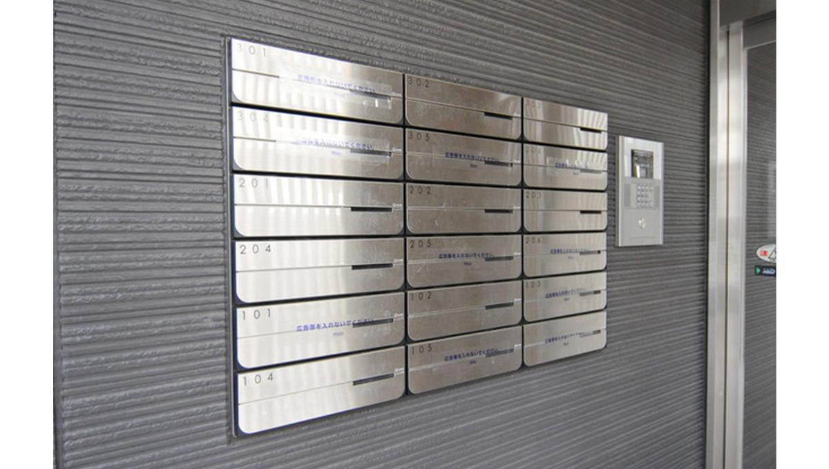 Flat自由が丘(フラット ジユウガオカ)のメールボックス
