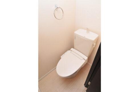 Flat自由が丘(フラット ジユウガオカ)のウォシュレット付トイレ