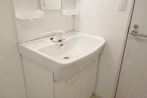 グローリーキャッスル自由が丘(ジユウガオカ)の独立洗面化粧台