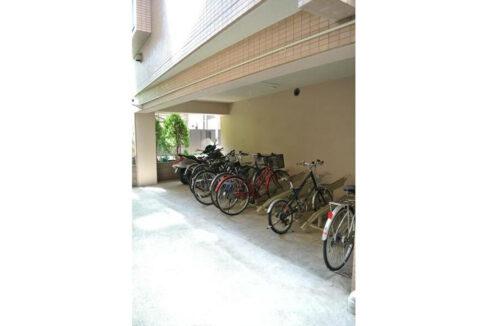グランヴァン武蔵小山Ⅱ(ムサシコヤマ)の駐輪場
