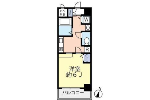 グランヴァン武蔵小山Ⅱ(ムサシコヤマ)の間取図