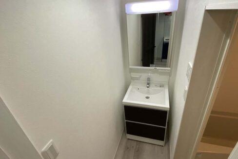 ハーミットクラブハウスMIE(ミエ)の独立洗面化粧台