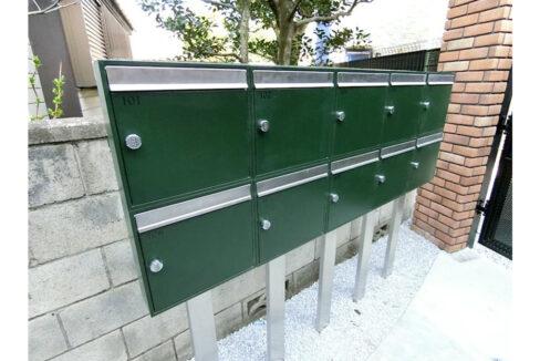 ハーミットクラブハウス平町(タイラマチ)のメールボックス