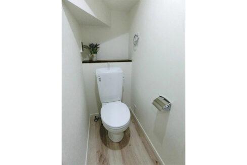 ハーミットクラブハウス平町(タイラマチ)のトイレ