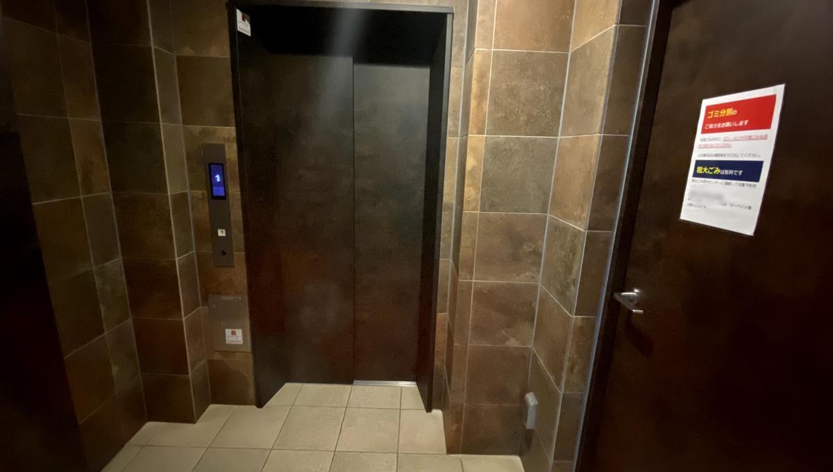 Log武蔵小山(ログ ムサシコヤマ)のエレベーター