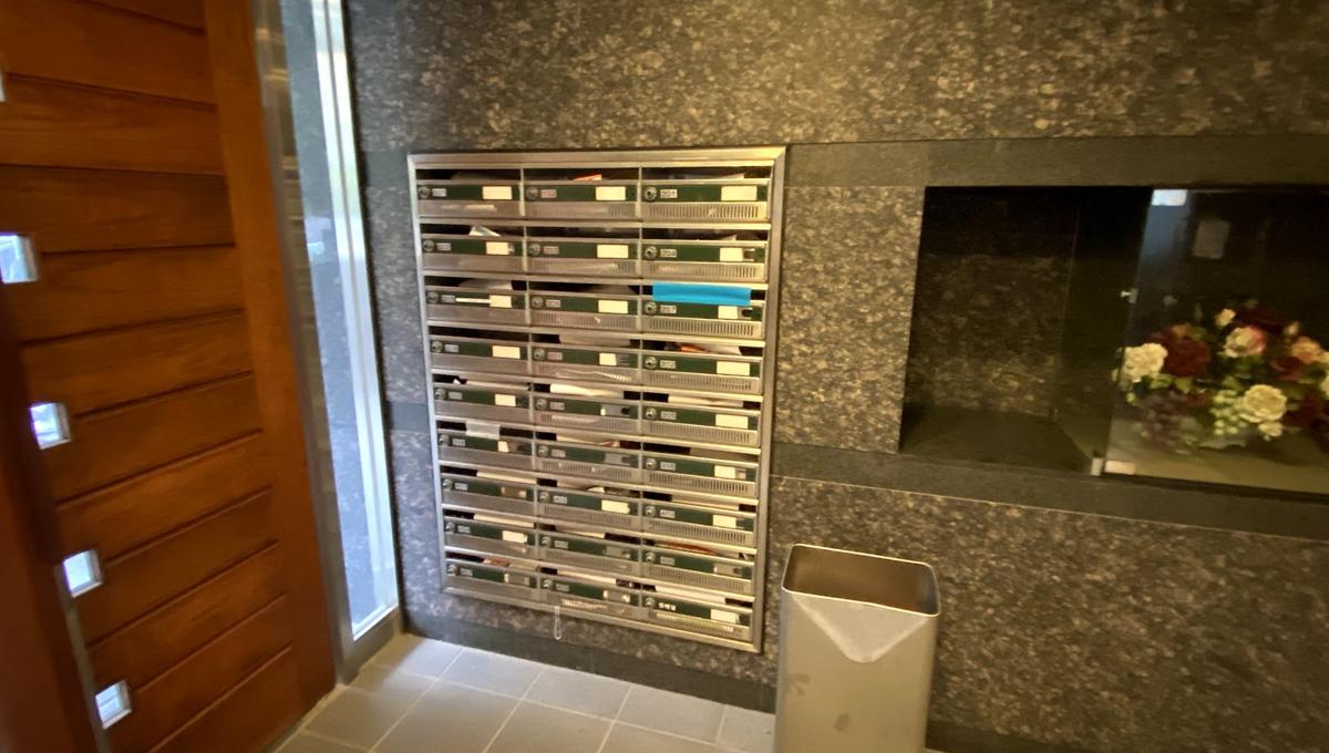 ルーブル目黒洗足(メグロセンゾク)のメールボックス