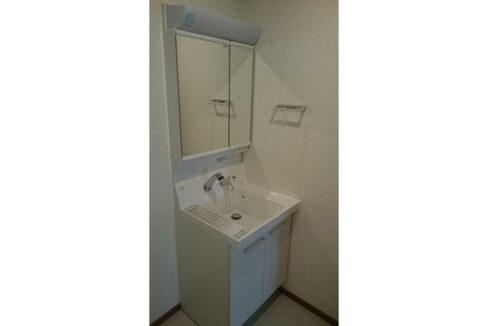 メゾン・ド・ルピナスの独立洗面化粧台