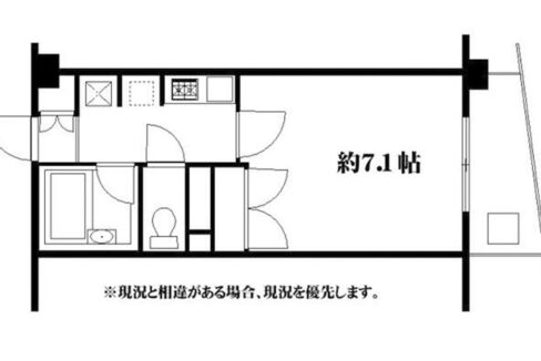 ネオ北千束(ネオキタセンゾク)の間取図