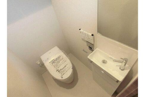 オープンレジデンシア大井町(オオイマチ)のタンクレストイレ