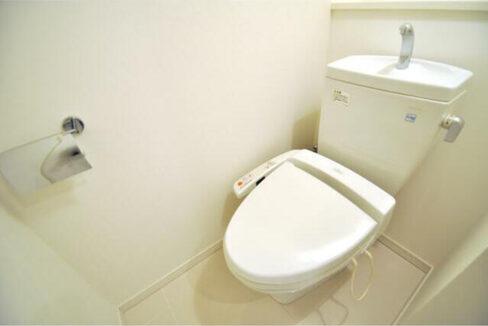 パシフィックコート中延(ナカノブ)のウォシュレット付トイレ