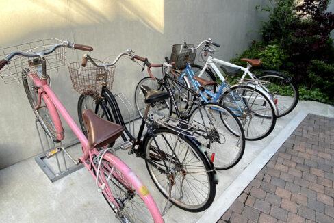 PARK SQUARE大井町(パークスクエアオオイマチ)の駐輪場