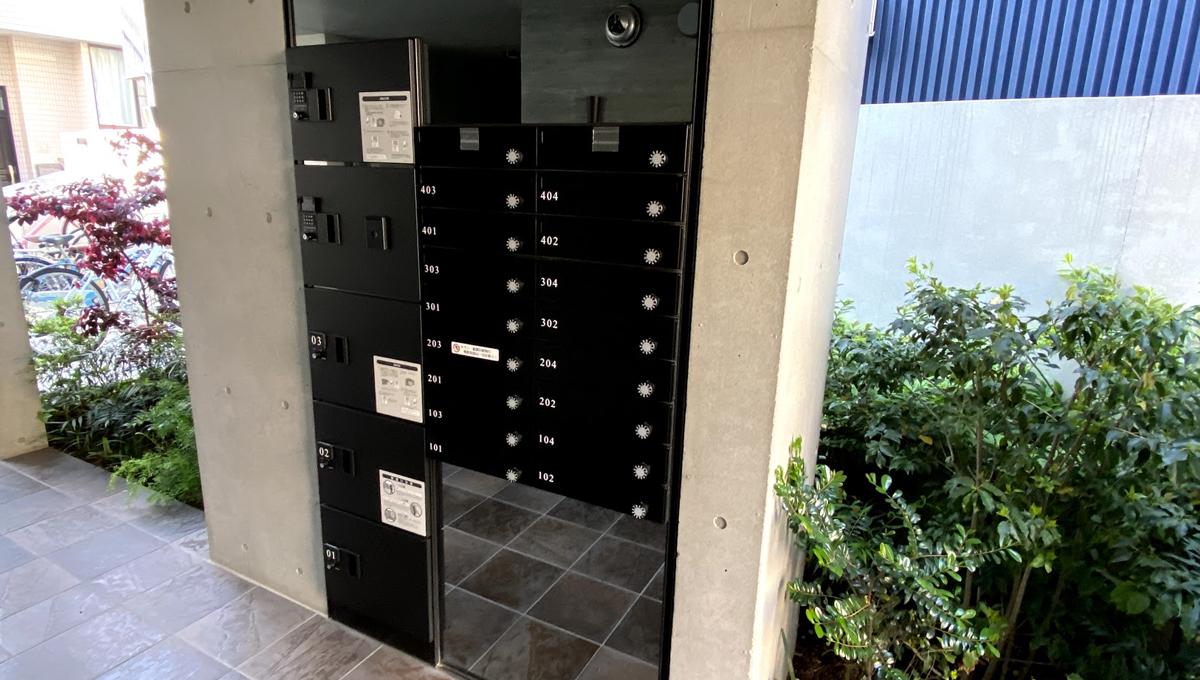 PARK SQUARE大井町(パークスクエアオオイマチ)の宅配ボックス