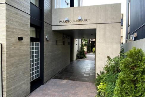 PARK SQUARE大井町(パークスクエアオオイマチ)のエントランスアプローチ