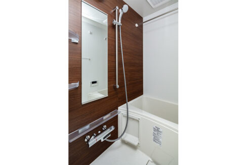 ピアース旗の台(ハタノダイ)のバスルーム