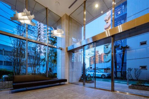 ピアース旗の台(ハタノダイ)のエントランスホール
