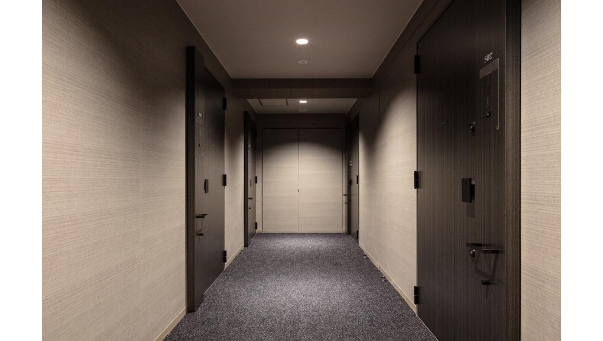 ピアース旗の台(ハタノダイ)の内廊下