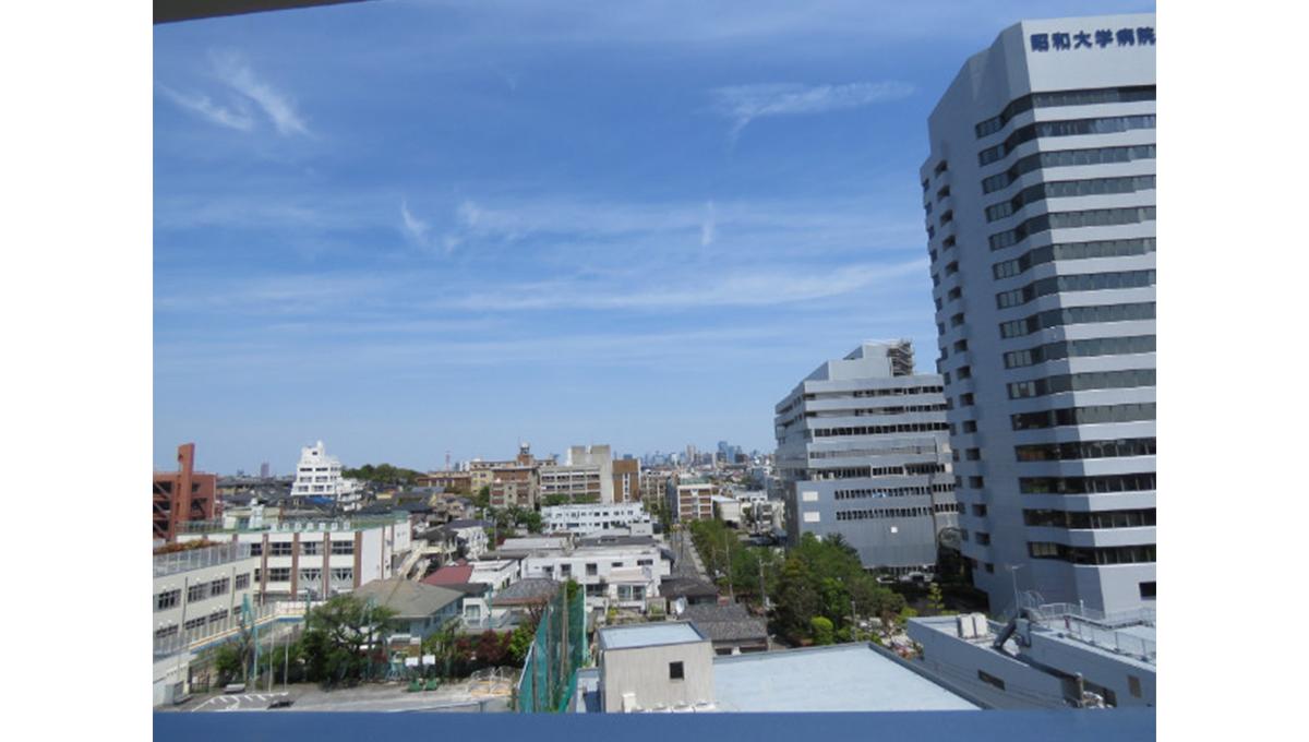 ピアース旗の台(ハタノダイ)の眺望
