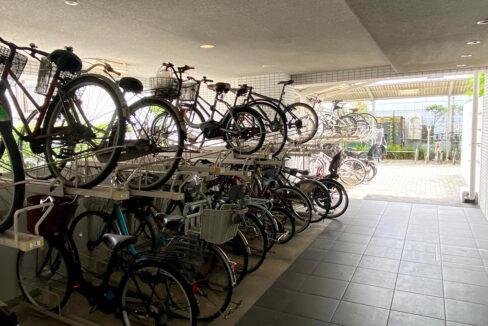 ルネ品川中延(トゴシコウエン)の駐輪場