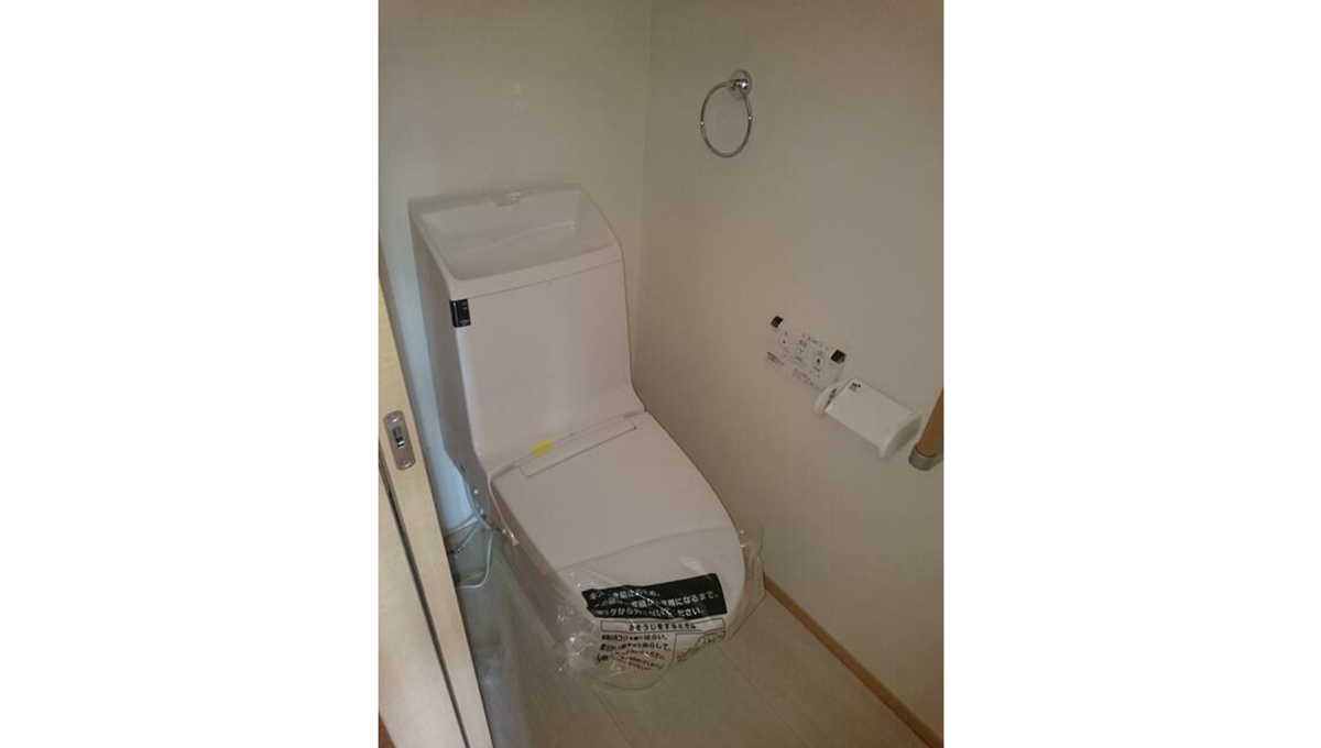 レジデンス自由ヶ丘F棟(ジユウガオカ エフトウ)のウォシュレット付トイレ