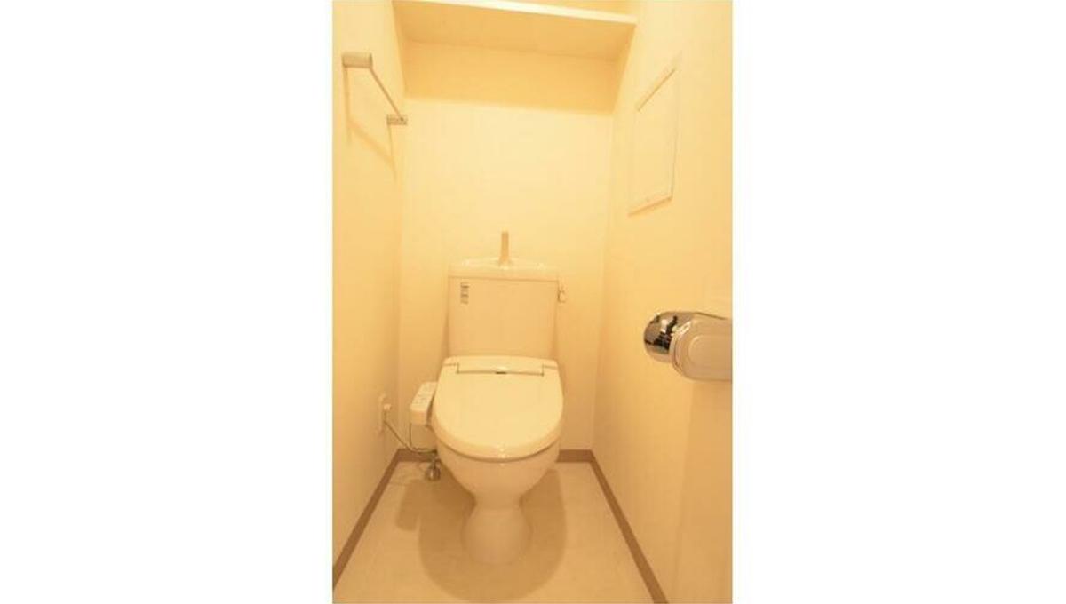 サンタグリュス武蔵小山(ムサシコヤマ)のウォシュレット付トイレ