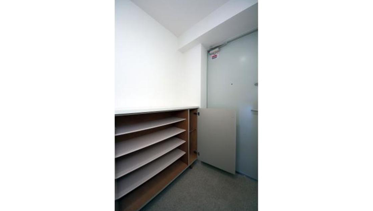 洗足第2マンション(センゾク)のシューズボックス