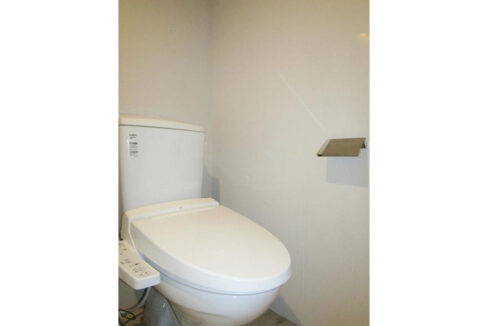 SkyHills旗の台(スカイヒルズ ハタノダイ)のウォシュレット付トイレ