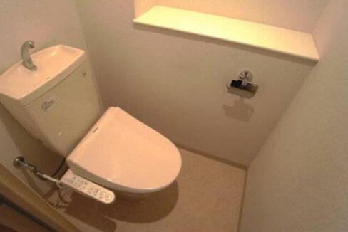 ソレイユのウォシュレット付トイレ
