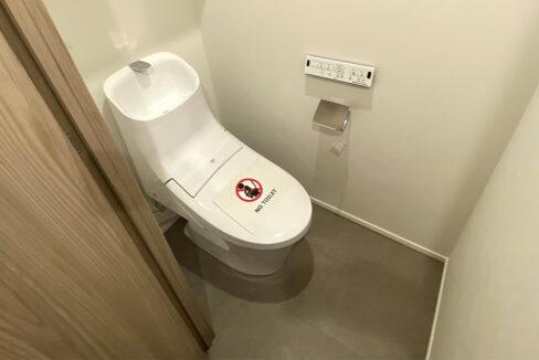 ザ・パークハビオ西大井(ニシオオイ)のウォシュレット付トイレ