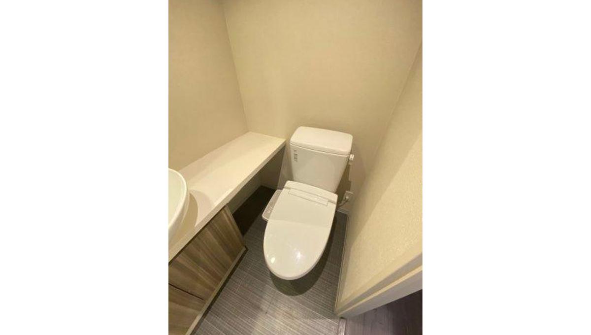 AXAS 目黒 Sta. (アクサス メグロ )のウォシュレット付トイレ