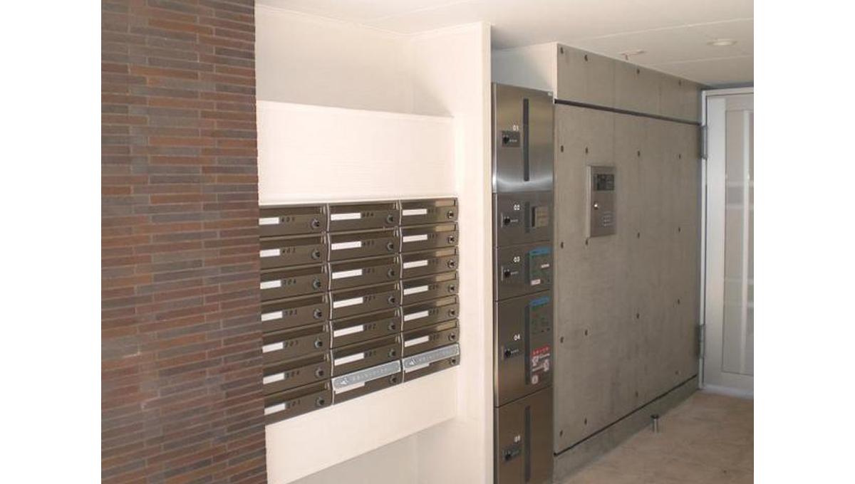 ブランシェ 荏原中延( エバラ ナカノブ )の宅配ボックス
