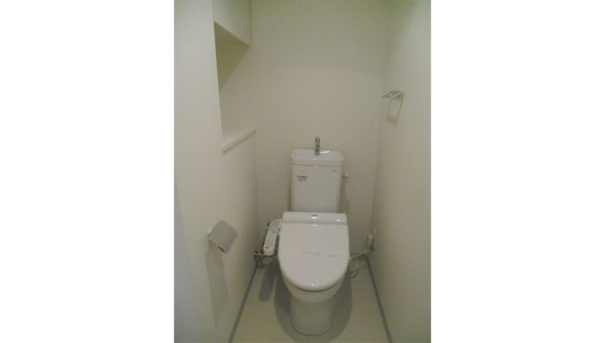 カスタリア 目黒平町( メグロタイラマチ )のウォシュレット付トイレ